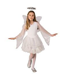 BuySeasons Little and Big Girl's Deluxe Angel Costume