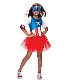Avengers American Dream Metallic Dress Infant-Toddler Costume