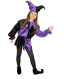 Baby Girl's Jester Child Costume