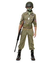 BuySeasons Boy's Fighter Pilot Child Costume