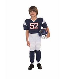 Little and Big Boy's Football Player Child Costume