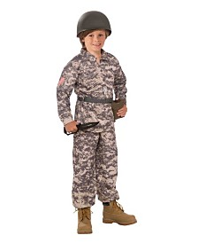BuySeasons Boy's Desert Soldier Child Costume