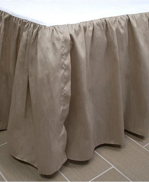 Austin Horn Classics Thread and Weave Bristol Bedskirt - Queen