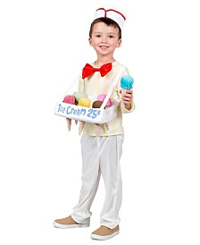 BuySeasons Boy's Ice Cream Cone Salesman Child Costume