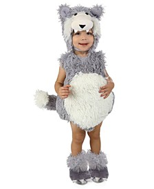 Baby Boys and Girls Vintage Beau the Big Bad Wolf Costume