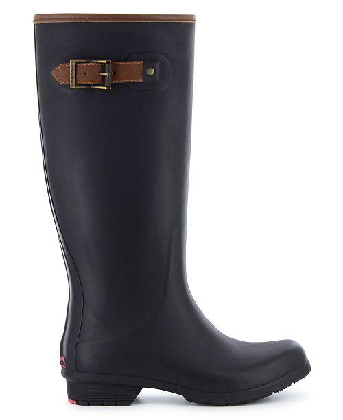 Chooka Women's City Solid Tall Rain Boot