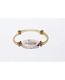 Michael Gabriel Designs Lovely Agate Barre Bracelet