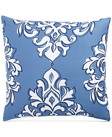 Outline Damask Cotton 300-Thread Count European Sham, Created for Macy's