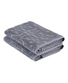 Ozan Premium Home Patchouli Bath Towels 2-Pc. Set
