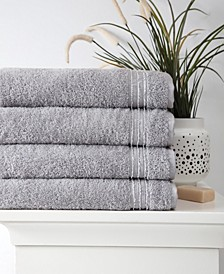 Cascade Bath Towel 4-Pc. Set