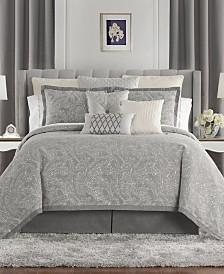 Waterford Aidan Reversible California King 4 Piece Comforter Set