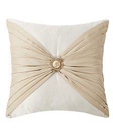 "Shelah 18"" X 18"" Pleated Square Decorative Pillow"