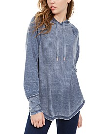 Juniors' Textured Pullover Hoodie, Created For Macy's