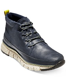 Cole Haan Men's ZERØGRAND Rugged Chukka Sneaker Boots