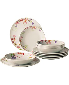 Villeroy & Boch Flower Meadow 12-PC Dinnerware Set
