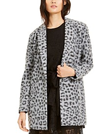 Michael Michael Kors Animal-Print Coat