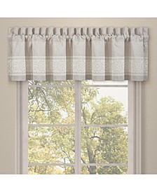 J Queen Lauralynn Window Straight Valance