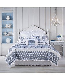 Tessa Navy Full 4pc. Comforter Set