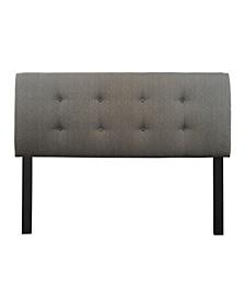 Candice Adjustable Upholstered Headboard, Queen Size