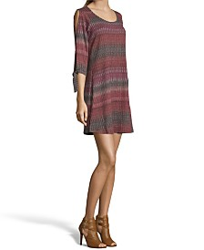 John Paul Richard Cold Shoulder Knit Dress