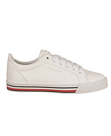 Tommy Hilfiger Little Girls and Boys Heritage Lace Up Sneaker