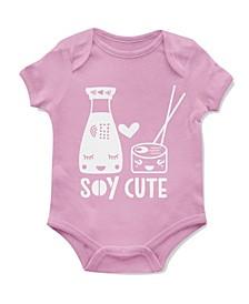 Baby Girl Soy Cute Bodysuit