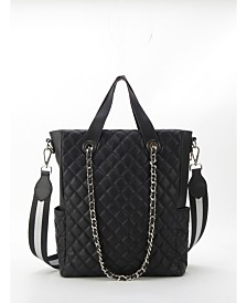 LIKE DREAMS Quilted Tote Shoulderbag