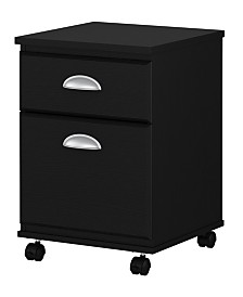 Kathy Ireland Home by Bush Furniture Connecticut 2 Drawer Mobile File Cabinet