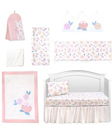 Pam Grace Creations Vintage Like Rose 10 Piece Crib Bedding Set