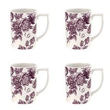 Kingsley Mug, Set of 4