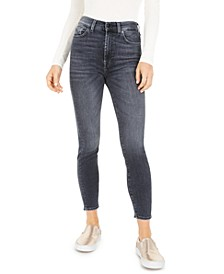 High-Waist Skinny Ankle Jeans