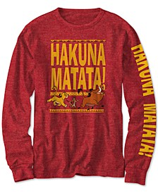 Big Boys The Lion King Hakuna Matata T-Shirt
