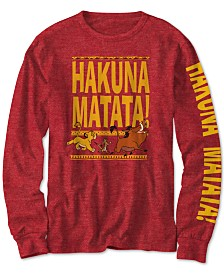 Disney Big Boys The Lion King Hakuna Matata T-Shirt