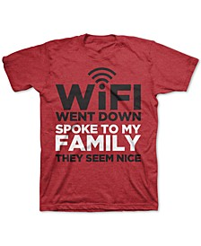 Big Boys WiFi Went Down T-Shirt