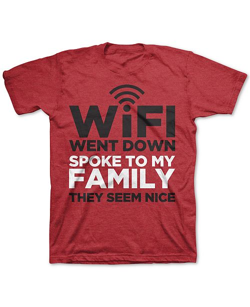 Jem Big Boys WiFi Went Down T-Shirt