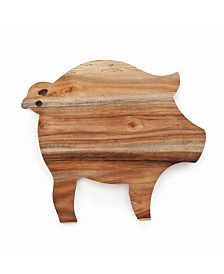 Twine Pig Cheese Board