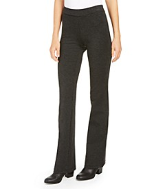 Petite Heathered Ponte Pants, Created For Macy's