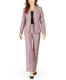 Le Suit Notched-Lapel Pants Suit
