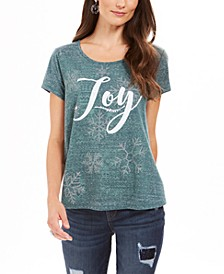 Joy Graphic T-Shirt, Created For Macy's