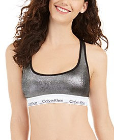 Women's Modern Cotton Wet Look Bralette QF5516