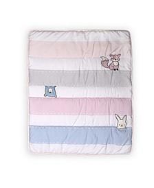 Furever Friends Nursery Crib Set, Pink