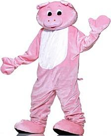 Buy Seasons Men's Pig Plush Economy Mascot Costume