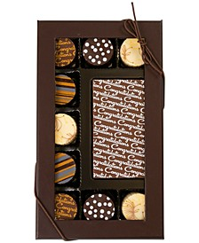10-Pc. Congratulations Gourmet Chocolate Truffles