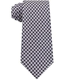 Men's Jewel Slim Houndstooth Tie