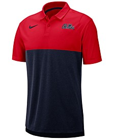 Men's Ole Miss Rebels Dri-Fit Colorblock Breathe Polo