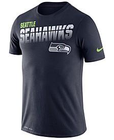 Men's Seattle Seahawks Sideline Legend Line of Scrimmage T-Shirt