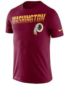 Nike Men's Washington Redskins Sideline Legend Line of Scrimmage T-Shirt