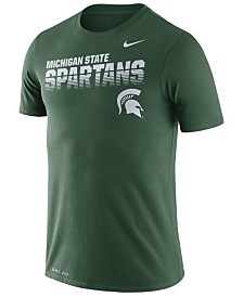 Nike Men's Michigan State Spartans Legend Sideline T-Shirt