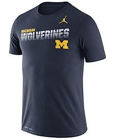 Men's Michigan Wolverines Legend Sideline T-Shirt