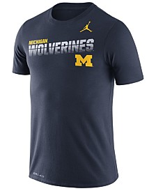 Nike Men's Michigan Wolverines Legend Sideline T-Shirt